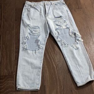 American Eagle Mom Jeans Size 14